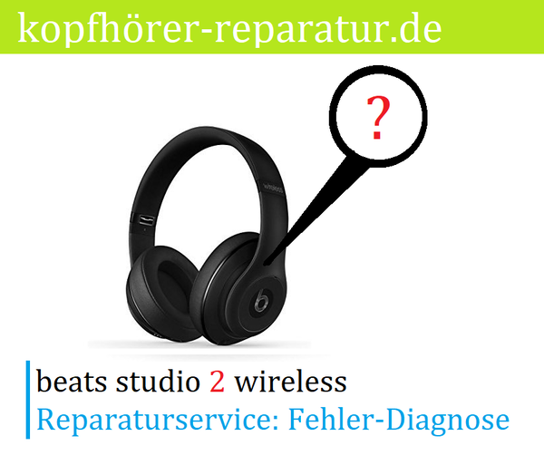 beats studio 2.0 wireless [Fehler-Diagnose]