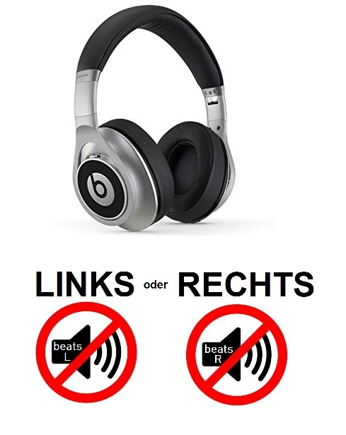 beats executive (links oder rechts kein Sound)