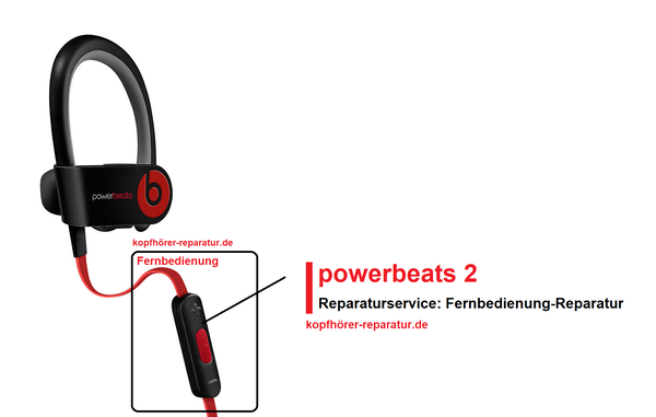 powerbeats 2 wireless : Fernbedienung-Reparatur
