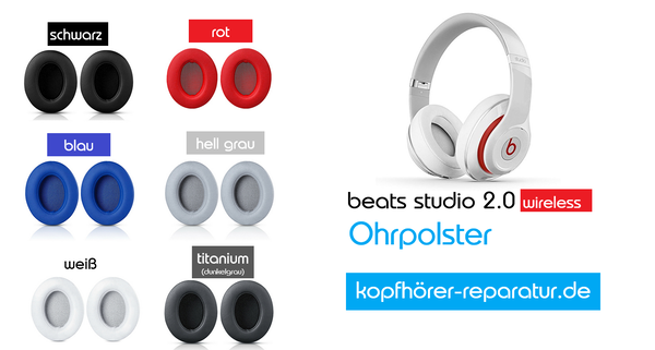 beats studio 2.0 wireless [Ohrpolster ♪]
