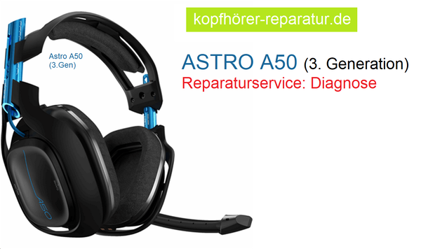Astro A50 (3.Generation): Diagnose