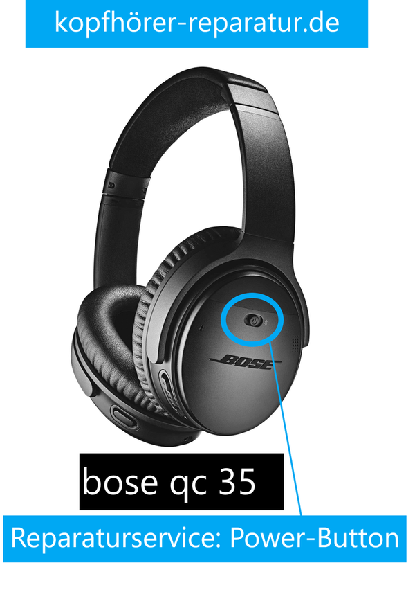 bose QC 35 : power button-Austausch