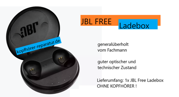 JBL Free X wireless Ladebox (generalüberholt)