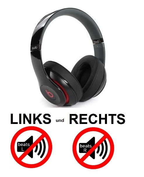 beats studio 2.0 wireless [links und rechts kein Sound]