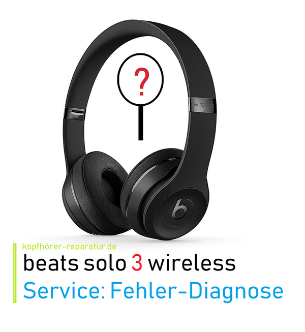 beats solo 3.0 wireless (Diagnose)